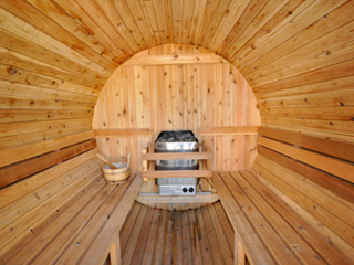 Barrel Sauna Wirral