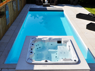 Swimming Pool with Spa Caldy Wirral